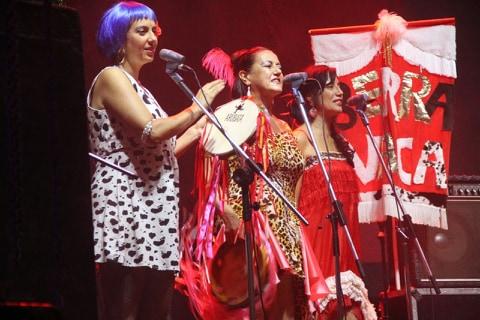 Berra Vaca participa do grande encontro no pré-carnavalesco da Estação Cultura (Foto Divulgação)