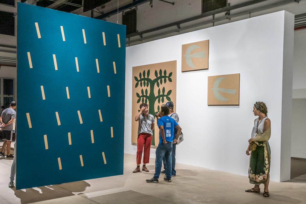 Obras de 13 artistas, até 16 de junho: para apreciar e pensar (Foto Martinho Caires)