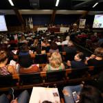 Conferência levou centenas de pessoas ao Centro de Convenções da Unicamp (Foto Adriano Rosa)