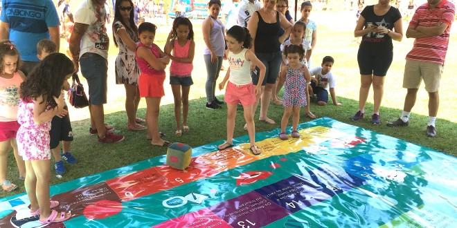 Lona das Artes tem várias atividades em escola de Campinas no Dia Mundial da Água