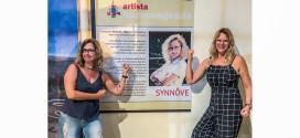 Synnöve Hilkner é a homenageada na mostra Batom, Lápis e Humor