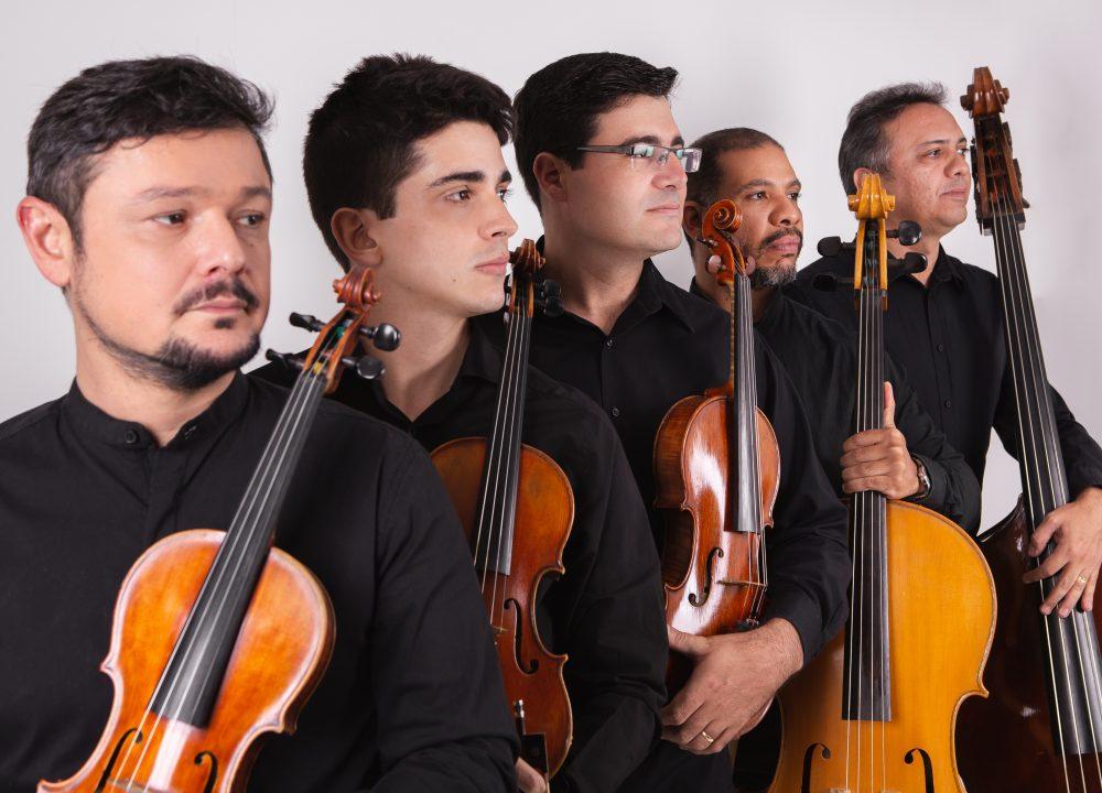 Quinteto da Paraíba faz o concerto de abertura do festival ao lado dos homenageados