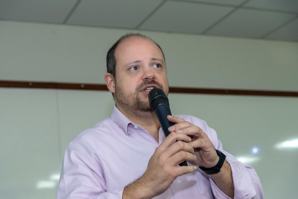 Rodrigo Sabbatini, diretor da Facamp, abriu o evento (Foto Martinho Caires)