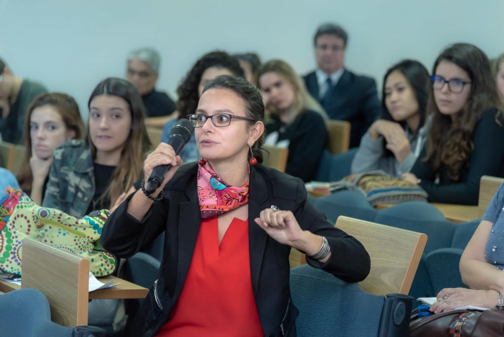 Solenne Huteau: esperança na inteligência coletiva (Foto Martinho Caires)
