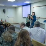 Anne Poiret na Facamp: solução longe de ser vislumbrada (Foto Martinho Caires)