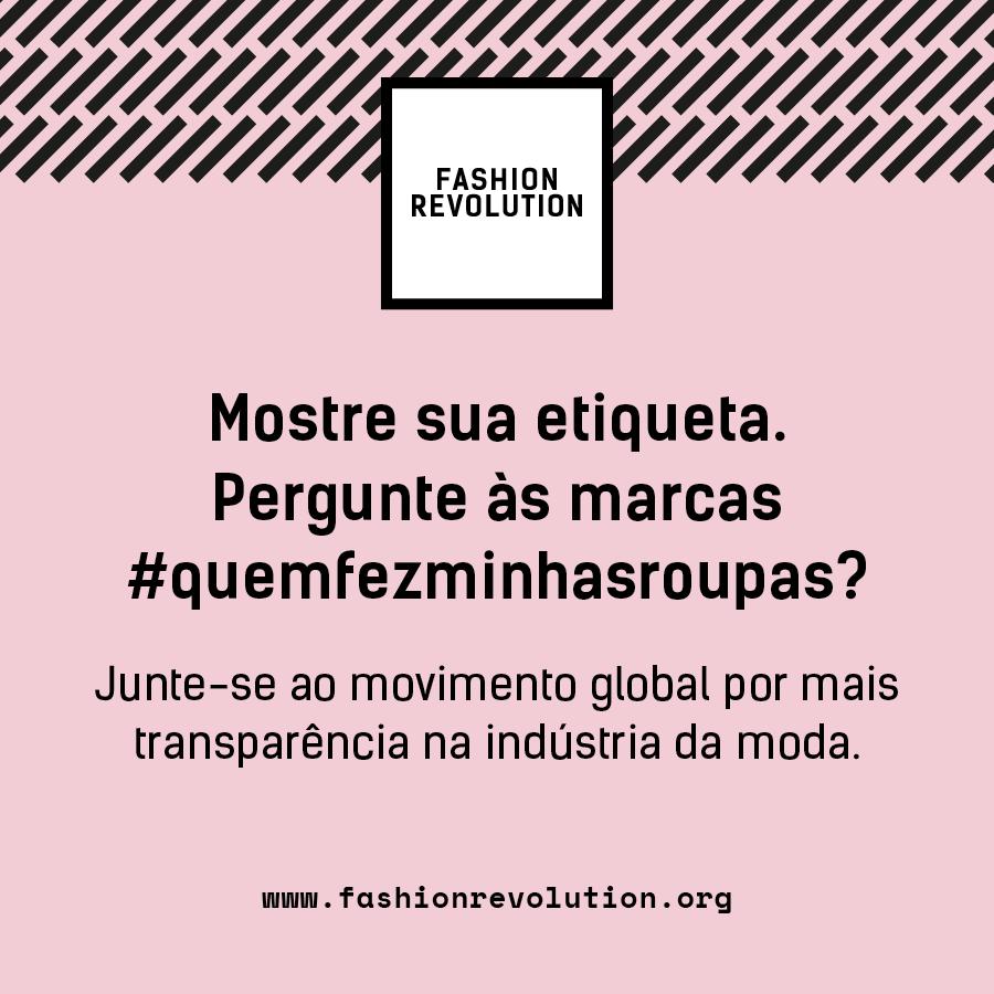 Um movimento global pela sustentabilidade na moda (Crédito Divulgação)