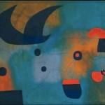 "Detalhe de Joan Miró ""Mural Painting"" Barcelona, 1950/1951"