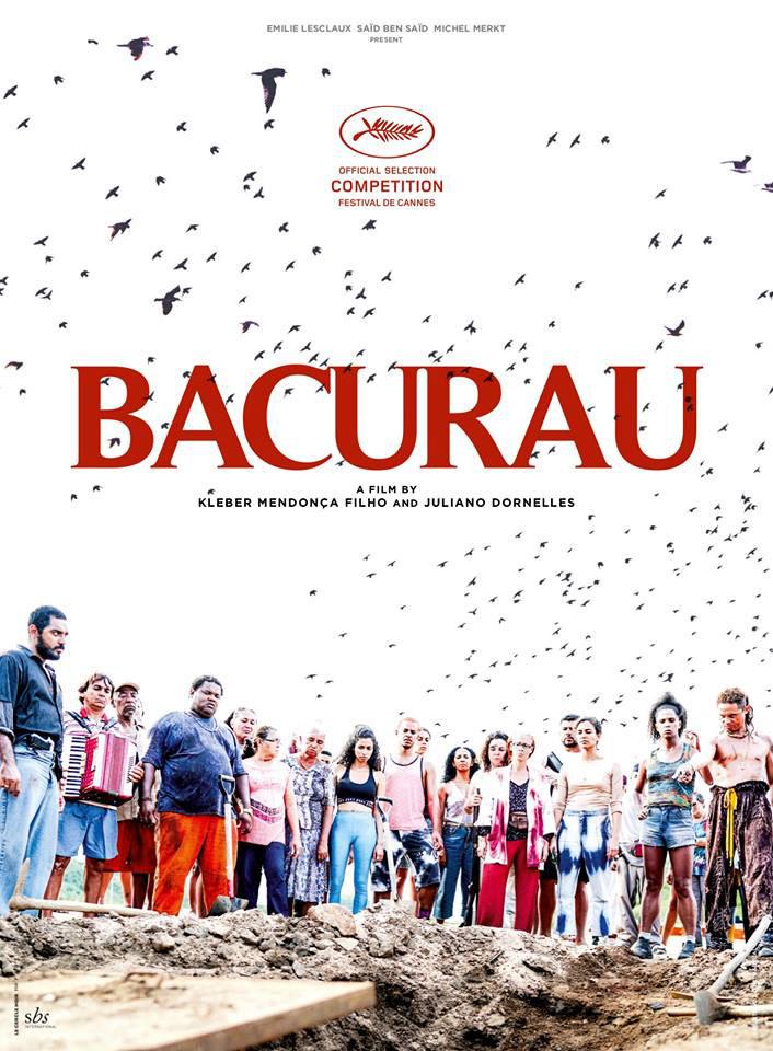 """Cartaz de """"Bacurau"""", que concorre na mostra principal"""
