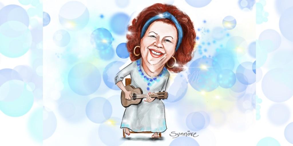 Beth Carvalho, por Synnöve Hilkner