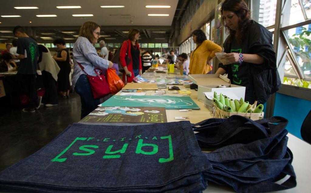 Feira SUB tem foco na produção independente artística e literária contemporânea (Foto Divulgação/Ricardo Lima)